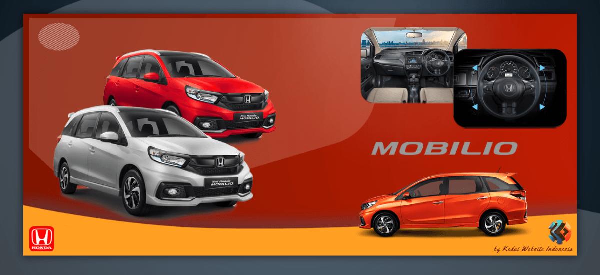 Slide Mobil Honda Mobilio by Kedai Website Indonesia